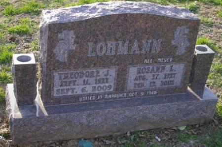 LOHMANN, THEODORE J. - Des Moines County, Iowa | THEODORE J. LOHMANN