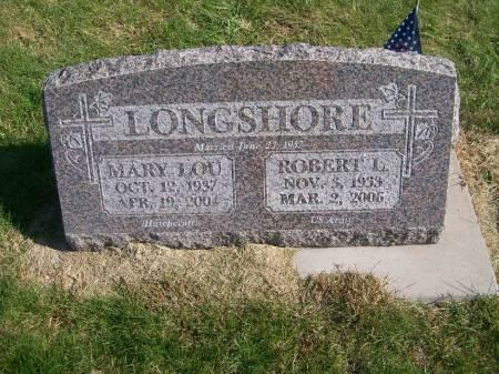 HUTCHCROFT LONGSHORE, MARY LOU - Des Moines County, Iowa | MARY LOU HUTCHCROFT LONGSHORE