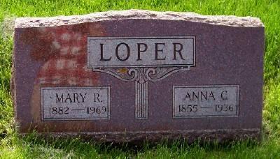 LOPER, ANNA C. - Des Moines County, Iowa   ANNA C. LOPER