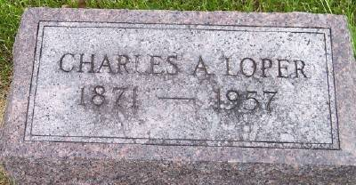 LOPER, CHARLES A. - Des Moines County, Iowa   CHARLES A. LOPER
