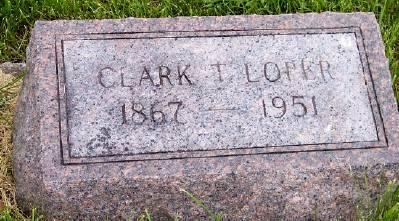 LOPER, CLARK T. - Des Moines County, Iowa   CLARK T. LOPER