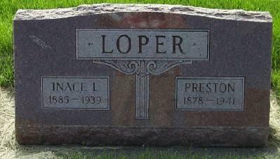 LOPER, INACE L. - Des Moines County, Iowa | INACE L. LOPER