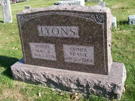 LYONS, MAY B. - Des Moines County, Iowa | MAY B. LYONS