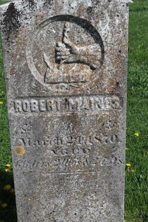 MAINES, ROBERT - Des Moines County, Iowa | ROBERT MAINES