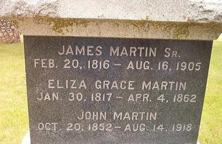MARTIN, JAMES SR - Des Moines County, Iowa | JAMES SR MARTIN