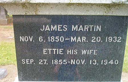 MARTIN, ETTIE - Des Moines County, Iowa | ETTIE MARTIN
