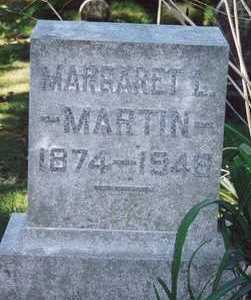 MARTIN, MARGARET L - Des Moines County, Iowa | MARGARET L MARTIN