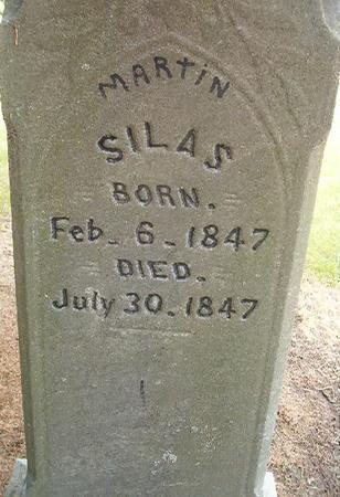 MARTIN, SILAS - Des Moines County, Iowa | SILAS MARTIN