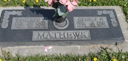 MATHEWS, GEORGE HENRY - Des Moines County, Iowa | GEORGE HENRY MATHEWS