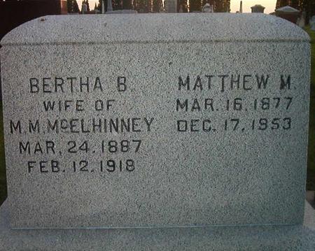 MCELHINNEY, MATTHEW M. - Des Moines County, Iowa | MATTHEW M. MCELHINNEY