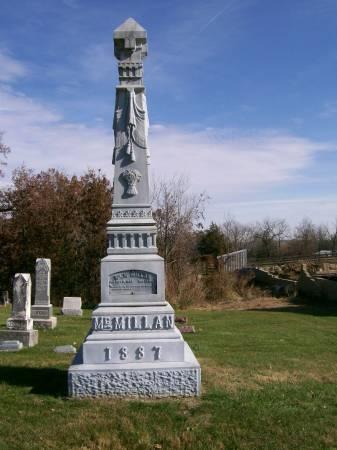 MCMILLAN, FAMILY STONE - Des Moines County, Iowa | FAMILY STONE MCMILLAN