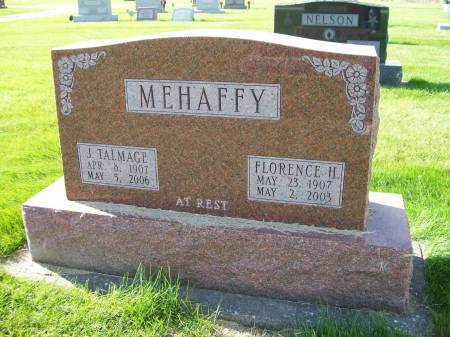 NELSON MEHAFFY, FLORENCE HELEN - Des Moines County, Iowa | FLORENCE HELEN NELSON MEHAFFY