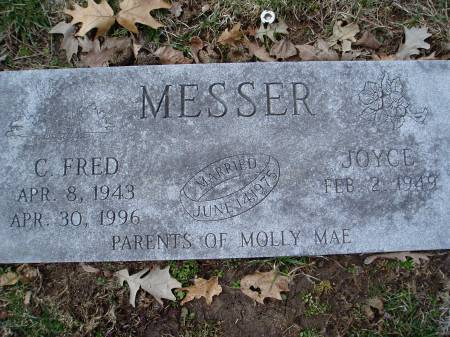 MESSER, CLARENCE FRED - Des Moines County, Iowa | CLARENCE FRED MESSER