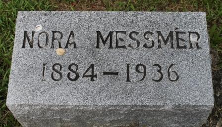 MESSMER, NORA - Des Moines County, Iowa | NORA MESSMER