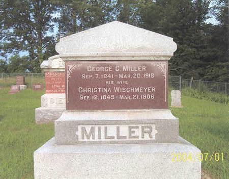 MILLER, CHRISTINA - Des Moines County, Iowa   CHRISTINA MILLER