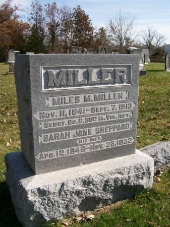 MILLER, MILES M. - Des Moines County, Iowa | MILES M. MILLER