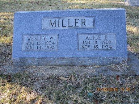 MILLER, WESLEY WALTER - Des Moines County, Iowa   WESLEY WALTER MILLER