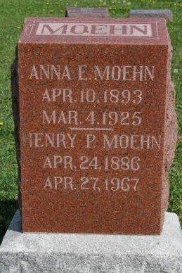 MOEHN, HENRY PHILLIP - Des Moines County, Iowa   HENRY PHILLIP MOEHN