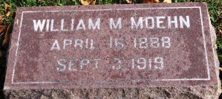 MOEHN, WILLIAM MARTIN - Des Moines County, Iowa   WILLIAM MARTIN MOEHN