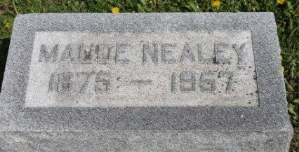 NEALEY, MAUDE - Des Moines County, Iowa | MAUDE NEALEY