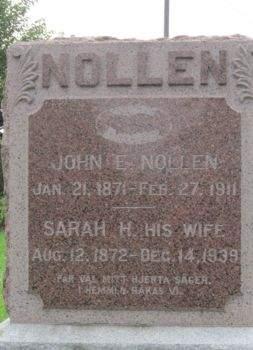 NOLLEN, JOHN E. - Des Moines County, Iowa   JOHN E. NOLLEN