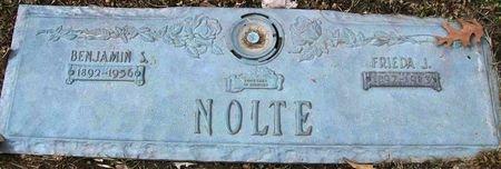 SCHOOF NOLTE, FRIEDA J. - Des Moines County, Iowa   FRIEDA J. SCHOOF NOLTE