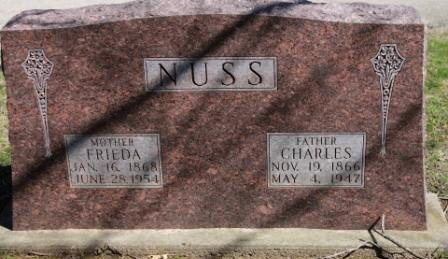 NUSS, CHARLES - Des Moines County, Iowa | CHARLES NUSS