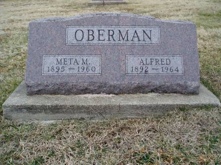 OBERMAN, ALFRED - Des Moines County, Iowa   ALFRED OBERMAN