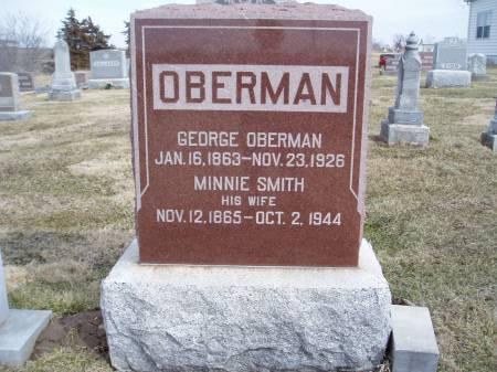 OBERMAN, GEORGE - Des Moines County, Iowa | GEORGE OBERMAN
