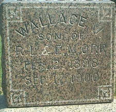 ORR, WALLACE W. - Des Moines County, Iowa | WALLACE W. ORR