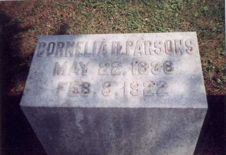 TRASK PARSONS, CORNELLIA H - Des Moines County, Iowa | CORNELLIA H TRASK PARSONS
