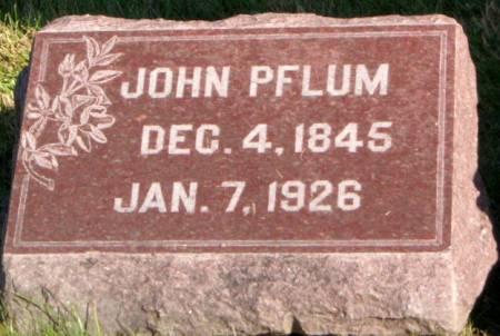 PFLUM, JOHN - Des Moines County, Iowa | JOHN PFLUM
