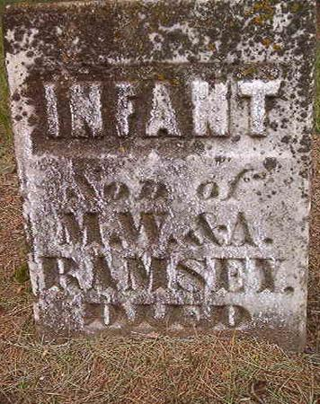 RAMSEY, INFANT SON - Des Moines County, Iowa   INFANT SON RAMSEY