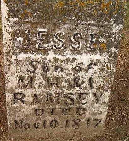 RAMSEY, JESSIE - Des Moines County, Iowa | JESSIE RAMSEY