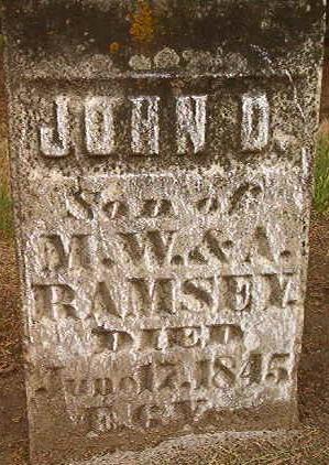 RAMSEY, JOHN D. - Des Moines County, Iowa | JOHN D. RAMSEY