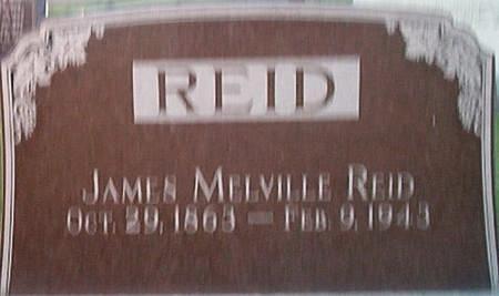 REID, JAMES MELVILLE - Des Moines County, Iowa | JAMES MELVILLE REID