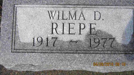 GLANTZ RIEPE, WILMA DORIS - Des Moines County, Iowa | WILMA DORIS GLANTZ RIEPE