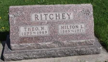 PARROTT RITCHEY, NELLIE THEODORA - Des Moines County, Iowa | NELLIE THEODORA PARROTT RITCHEY