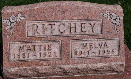 RITCHEY, MATTIE - Des Moines County, Iowa | MATTIE RITCHEY