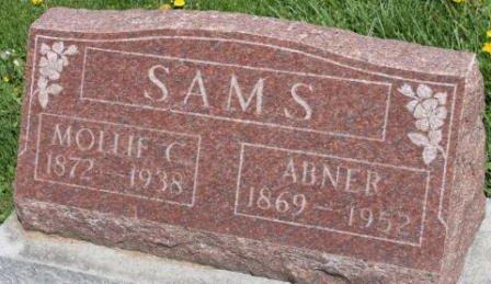 SAMS, MOLLIE C. - Des Moines County, Iowa | MOLLIE C. SAMS