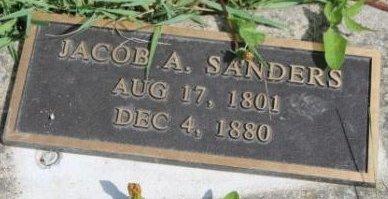 SANDERS, JACOB A. - Des Moines County, Iowa   JACOB A. SANDERS