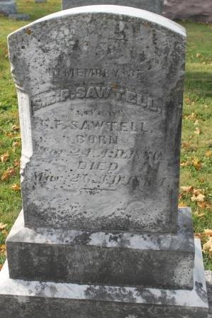 SAWTELL, SARAH E.P. - Des Moines County, Iowa | SARAH E.P. SAWTELL