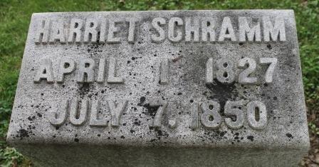 MORGAN SCHRAMM, HARRIET - Des Moines County, Iowa | HARRIET MORGAN SCHRAMM