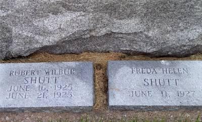 SHUTT, ROBERT WILBUR - Des Moines County, Iowa   ROBERT WILBUR SHUTT