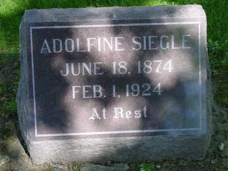 SIEGLE, ADOLFINE - Des Moines County, Iowa | ADOLFINE SIEGLE