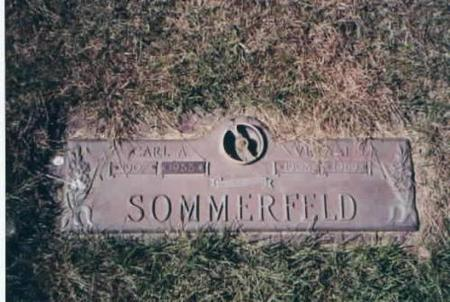 SOMMERFELD, CARL AND VERA - Des Moines County, Iowa | CARL AND VERA SOMMERFELD