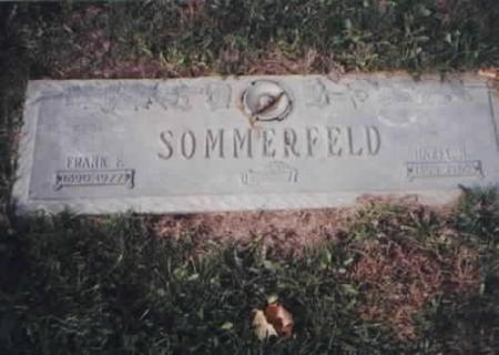 SOMMERFELD, FRANK AND HAZEL - Des Moines County, Iowa | FRANK AND HAZEL SOMMERFELD