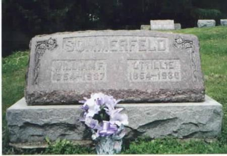 SOMMERFELD, WILLIAM AND OTTILLIE - Des Moines County, Iowa | WILLIAM AND OTTILLIE SOMMERFELD