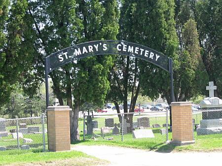 ST. MARY'S (WEST BURLINGTON), CEMETERY - Des Moines County, Iowa | CEMETERY ST. MARY'S (WEST BURLINGTON)