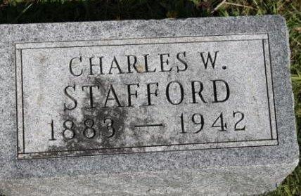 STAFFORD, CHARLES WILBUR - Des Moines County, Iowa   CHARLES WILBUR STAFFORD